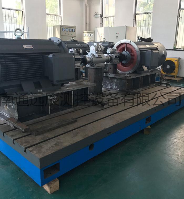 拖能力:电力测功机可以方便的转换成电机拖动模式
