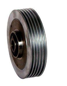 空心轴超薄散热片式磁粉制动器